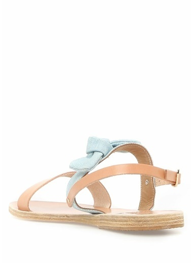 Ancient Greek Sandals %100 Deri Sandalet Ten